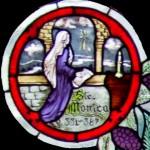 Saint Mary Icon - The Cradle of Prayer
