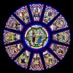 Rose Window from St. John's Episcopal Church Savannah GA