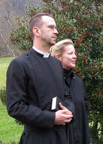 Stacy Stephens and Rev. Paul Blankenship